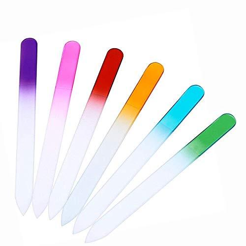 6 Set Lima Uñas Cristal Professional - Cuidado Uñas