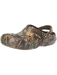 Crocs Classic Lined Realtree Edge Clog, Zuecos Unisex Adulto