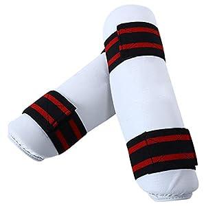 Fansport Shin Guards Beinschutz Mit Verstellbarem Riemen FüR Taekwondo