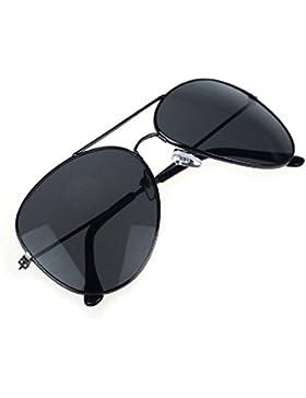 zolimx Nuevo estilo unisex clásico Metal diseñador gafas de sol