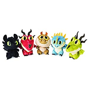 Spin Master Plush DreamWorks How to Train Your Dragon-Soft Toy Egg, Multicolor (6045084)