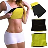 Sweat Shaper Belt, Slimming Belt, Waist Shaper, Tummy Trimmer, Sweat Slim Belt, Belly Fat Burner, Stomach Fat Burner, Hot Shaper Belt, Unisex Body Shaper For Men & Women