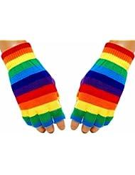 Gothic Handschuhe - Rainbow