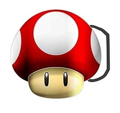Boucle de ceinture–Nintendo–Champignon New power-up Anime bb132820ntn sous licence