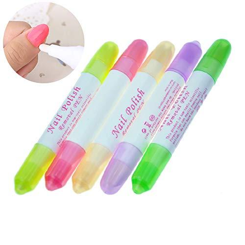 5PCS / SET La eliminación esmalte uñas Corrector