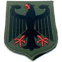 Alemania alemán escudo de armas imperial Eagle verde bordado para Airsoft y Paintball parche