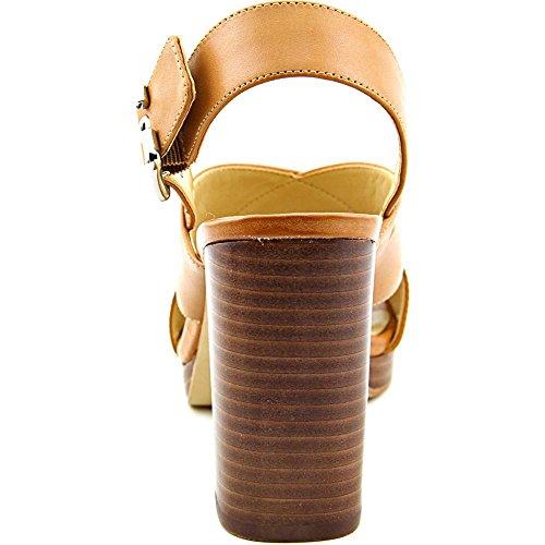 Marc Fisher Faithe Femmes Cuir Sandales Medium Brown