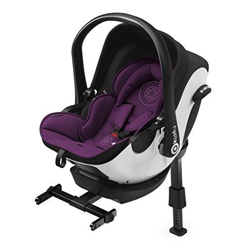 kiddy 41940EL040 Kindersitz I-Size inklusive Isofix Base 2 Royal Purple, violett