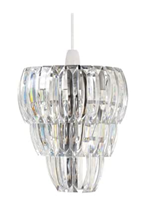 Pacific Lighting Acrylic Non Electric Pendant, Clear