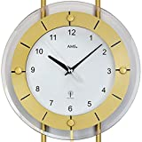 AMS 5255 Pendeluhr Funk Modern Aluminium Messing - 2