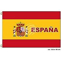 MIDI Shopping–la bandera de España España Spanish Flag National International Europe 150x 90cm FL-12
