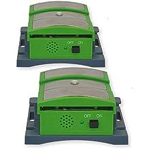 ISOTRONIC Marder-Frei Mobil Ultraschall LED Hochspannung Marderschreck, Marderschutz, Marderscheuche, Marderabwehr, Marderfrei, batteriebetrieben für Auto, Haus, Garage, Carport (2)