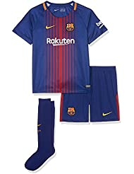 Nike FCB LK NK BRT KIT HM Camiseta 1ª Equipación Línea FC Barcelona, Azul (Deep Royal Blue / University Gold), S