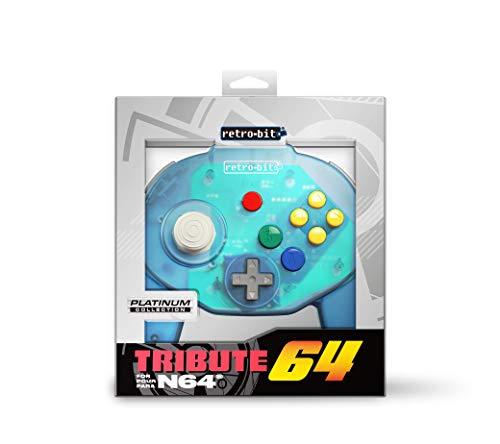 Preisvergleich Produktbild Retro-Bit Tribute 64 for Nintendo 64 - Ocean Blue
