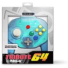 Retro-Bit Tribute 64 for Nintendo 64 - Ocean Blue [Importación inglesa]