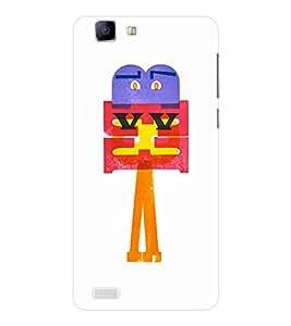 EPICCASE Shy cartoon Mobile Back Case Cover For Vivo X 3s (Designer Case)