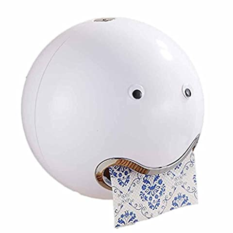 HKFV Ball Shaped Nette Emoji Bad Wc Wasserdichte Toilettenpapier Box Rolle Sauger Toilettenpapier Box Schublade Gewebebox Halter Spitze Toilettenpapierbox (Xbox Weihnachten Spiele)