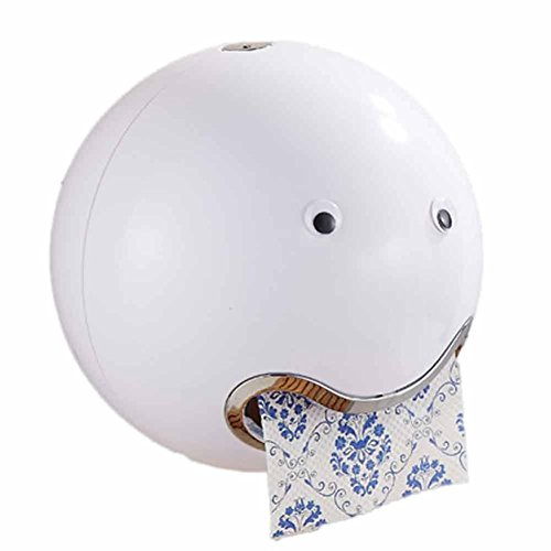 Kostüme Diy Warme (HKFV Ball Shaped Nette Emoji Bad Wc Wasserdichte Toilettenpapier Box Rolle Sauger Toilettenpapier Box Schublade Gewebebox Halter Spitze Toilettenpapierbox)