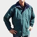 Schauspieler) ® Finnland–Regen Jacke/winddicht für das Golf–Scotchgard grün S