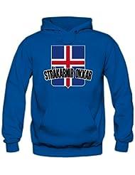 Island EM 2016 #4 Kapuzenpullover   Fußball   Herren   Strákarnir Okkar   Trikot   Nationalmannschaft © Shirt Happenz