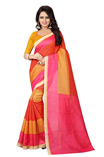 Kanchan Women's Silk Saree (SUPERSILK05_Multi Coloured)