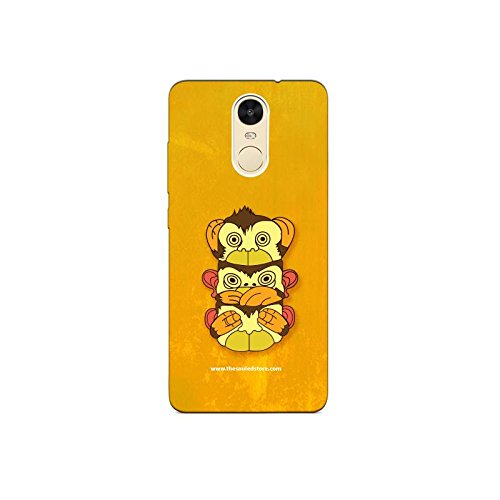 Three Monkeys Xiaomi Redmi Note4 Mobile Case by The Souled Store