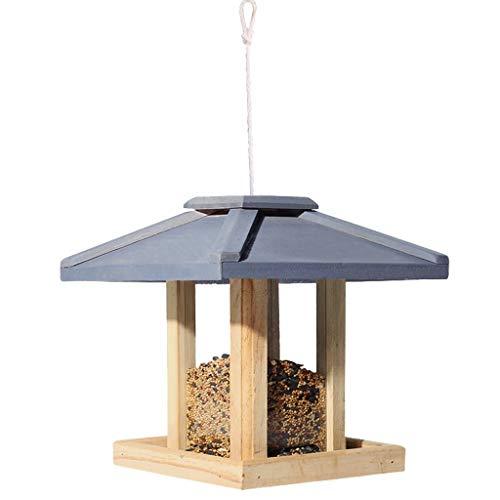 JPVGIA Vogelfutterautomat Birdbath Bird Feeder Hängender Wildvogelfutterautomat Für Mix Seed Blends, Niger Seed Feeder, Sunflower Heart -