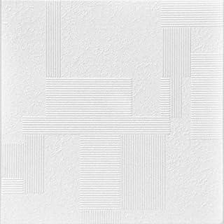 A La Maison Ceilings R187-8pw Vectors Ceiling Tile, Plain White