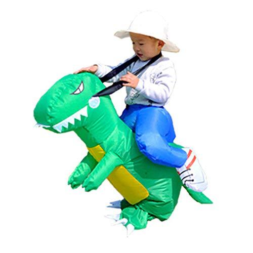 DuHLi Kinderfestival lustige kostenlose aufblasbare Walking Dinosaur Kostüm