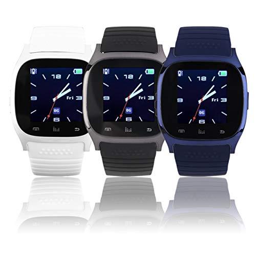 WOSOSYEYO Il più Nuovo aggiornamento M26 Wireless Smartwatch Smart Orologi digitali da Polso SYNC Phone Mate per iOS Apple per iPhone per telefoni Android