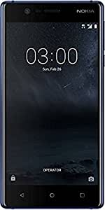 Nokia 3 (Tempered Blue, 2GB RAM, 16GB Storage)
