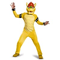 Disguise Bowser Deluxe Costume, Large (10-12) by Disguise