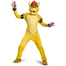 Disguise Bowser Deluxe Costume, Medium (7-8) by Disguise