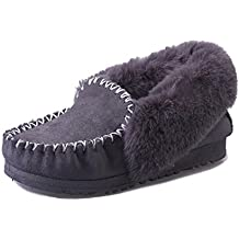 Fortuning s JDS della ragazza delle donne inverno stile semplice che  impiomba pelliccia Corda piatto Spesso scarpe 01e31e972c9