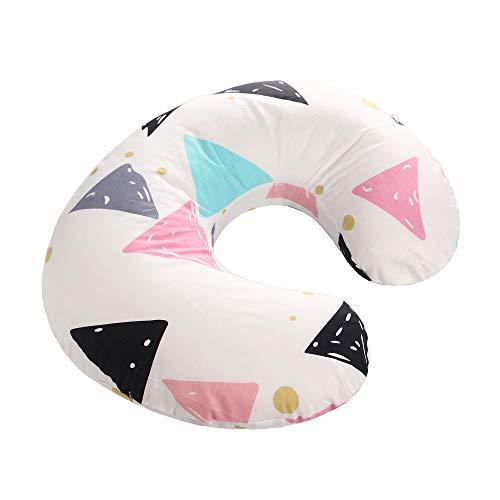 Couverture d'oreiller d'allaitement de bébé, coton pur mou conçu pour l'allaitement d'allaitement