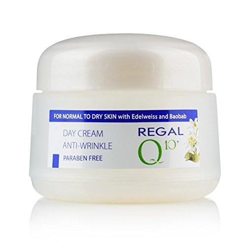 Regal Q10+ Crema da Giorno Antirughe con Oleo di Baobab y Edelweiss, Pelle Normale o secca.
