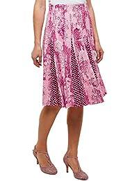 90c159270 Joe Browns Womens Polka Dot Insert Floral A-Line Skirt