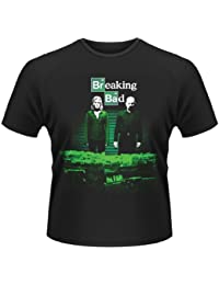 Plastic Head Breaking Bad Container Stash - T-shirt - Col ras du cou - Manches courtes - Homme