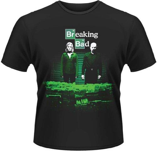 Plastic Head Breaking Bad Container Stash - T-shirt - Col ras du cou - Manches courtes - Homme, Vêtements / Tee shirts