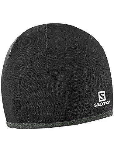 Salomon Active Warm Beanie Gorro, Hombre, Negro, OSFA