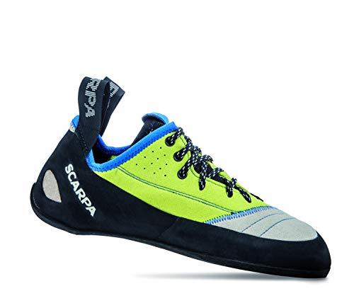 Scarpa Schuhe Velocity L Men Größe 42,5 lightgray/lime fluo