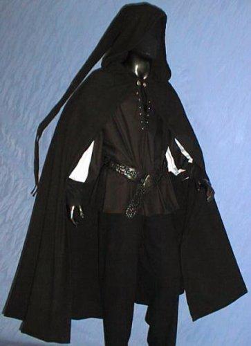 MITTELALTER ZIPFEL CAPE- UMHANG GOTHIC LARP GAUKLER 5011 (Kostüme Gaukler)