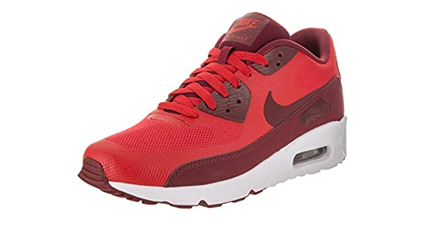 4d74c869c60 Nike Men s Air Max 90 Ultra 2. 0 Essential University Red Team Red White  Running Shoe 12 Men US  Buy Online at Low Prices in India - Amazon.in