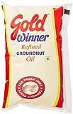Gold Winner Refined Groundnut Oil, 1L