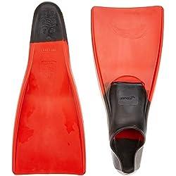 Finis Palmes de natation Noir/rouge 42-43 XL - EU 42-44