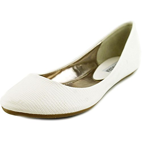 Steve Madden Heaven Synthétique Chaussure Plate white