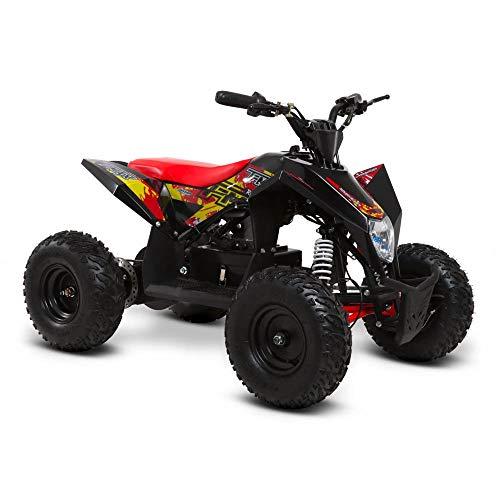 funbikes T-Max Roughrider 1000W Elektro Kinder Quad Bike Akku, rot