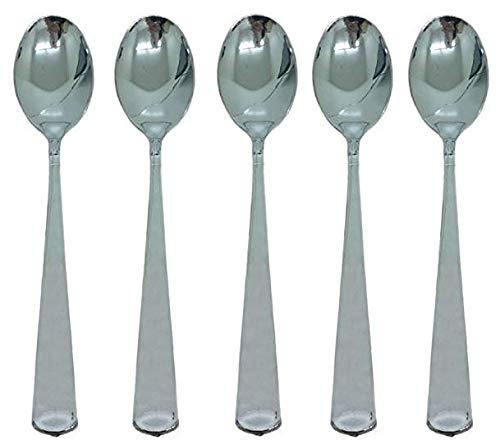 Robustes Kunststoff Besteck Besteck. Elegantes Einweg Silber Besteck-Set für Hochzeiten, Partys, und Events. ()