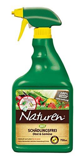 Naturen Bio Schädlingsfrei Obst- & Gemüse, Natürliches Mittel gegen Blattläuse, Spinnmilben, Weiße Fliegen, Gallmilben und Schildlausarten sowie...