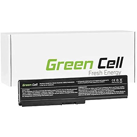 Green Cell® Portátil Batería para Toshiba Satellite C660D-A2K Ordenador (4400mAh)